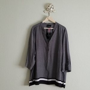 Cynthia Rowley womens popover top 3x